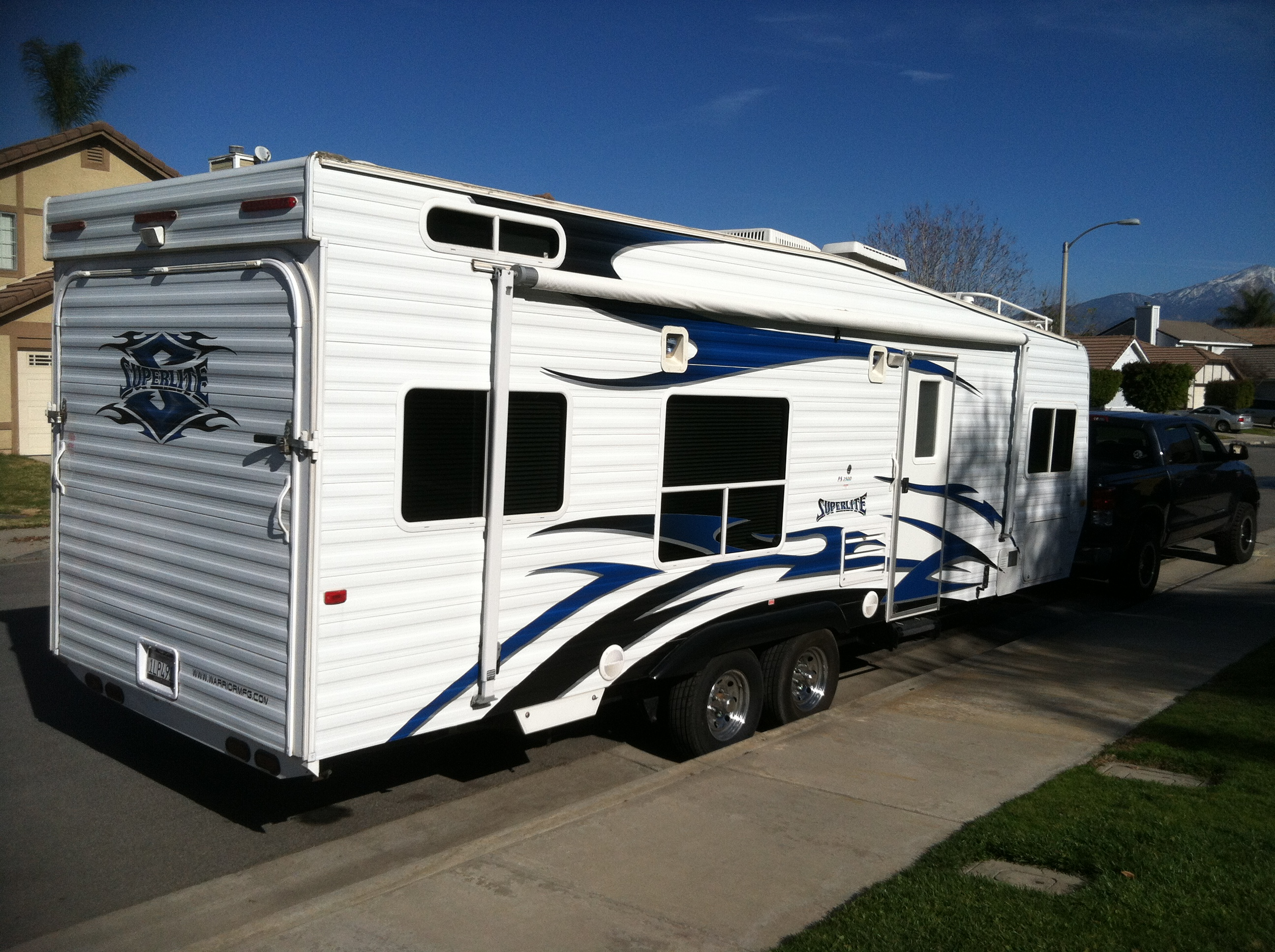Classified Ads Ss Off Road Magazine Trailer Wiring Harness 4 Flat 25ft To Redo Lights 25 Ft Weekend Warrior Superlite Toy Hauler Very Clean Loaded With All Extras Real Queen Size Bed Up Front Full Bath And Shower Built In Generator
